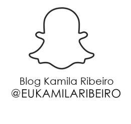 SNAP: @eukamilaribeiro