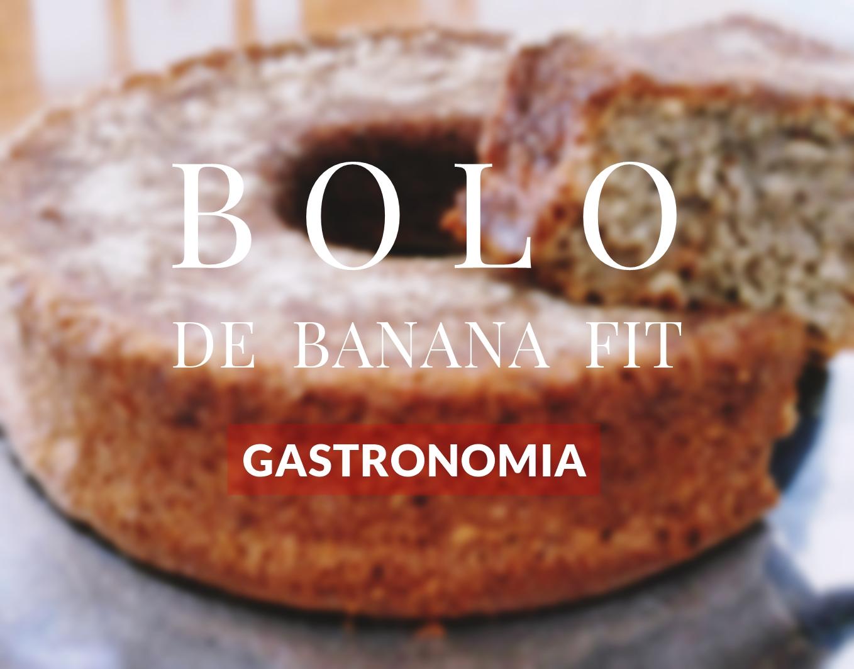 RECEITA BOLO DE BANANA FIT | FITNESS