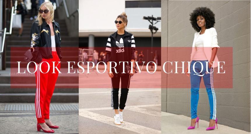 LOOK ESPORTIVO CHIQUE