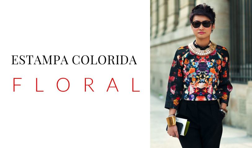 LOOK ESTAMPA FLORAL
