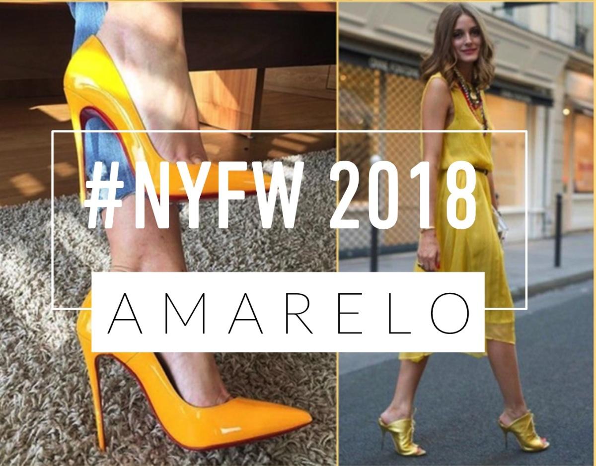 NYFW 2018 | AMARELO NAS RUAS DE NY