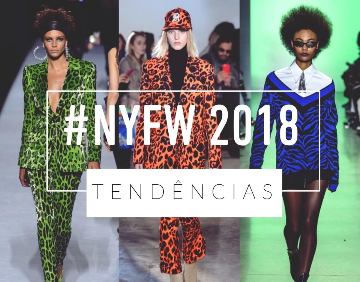 ALGUMAS TENDÊNCIAS DO NYFW 2018