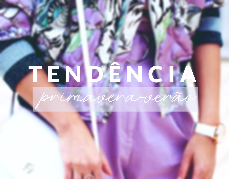 COR TENDÊNCIA PRIMAVERA/VERÃO 2019